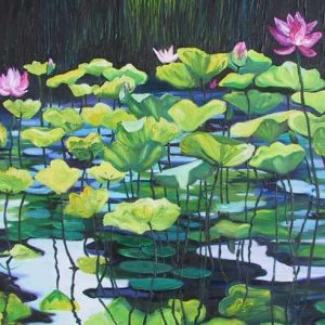 Balinese Waterlily Pond