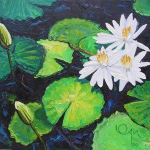 Bright Lily Pond
