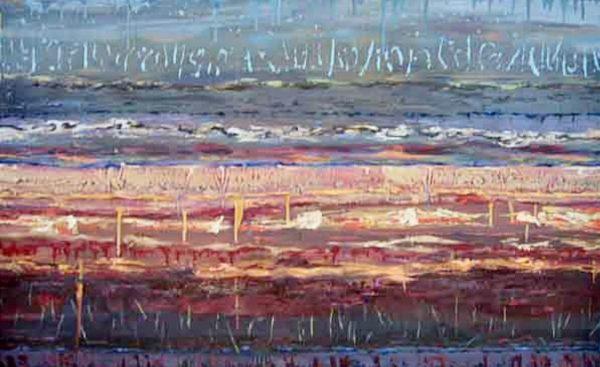 Evening River Flats