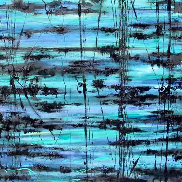 Midnight Reeds in Blue