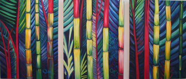 Patchwork Palm