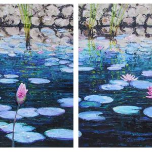 The Pond DIptych